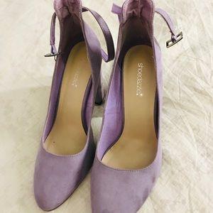 Lavender pumps